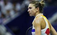 """""""Mai bine stai jos!"""" Simona Halep a ramas uluita: moment rar intalnit pe terenul de tenis! De ce a intrerupt arbitra partida"""