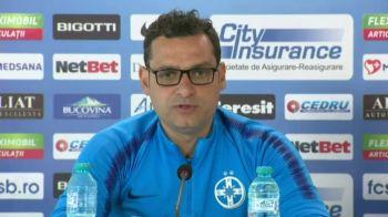 """Mihai Teja nu renunta la lupta pentru titlu! """"Mai avem doua finale de jucat"""" Ce spune antrenorul FCSB despre situatia lui Raul Rusescu!"""