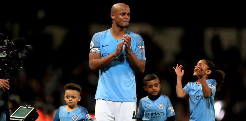 Kompany, in lacrimi la finalul meciului cu Leicester! Ce a spus eroul lui Guardiola!