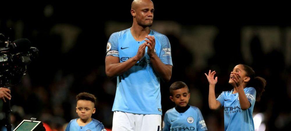 """Kompany, in lacrimi la finalul meciului cu Leicester! Ce a spus eroul lui Guardiola! """"Nu am ajuns pana aici ca sa imi spuna jucatorii mai tineri cand sa sutez!"""""""