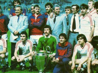 Jucatorii Stelei, imbracati in UNIFORME militare de Ceausescu dupa castigarea Cupei Campionilor. Ce prime au primit