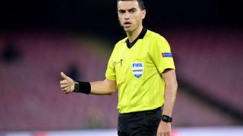 Ovidiu Hategan, delegat la semifinala de Europa League pentru a doua oara in cariera! Meciul URIAS pe care il va arbitra