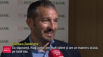 "Campionul mondial Zambrotta il asteapta pe Ianis Hagi din nou in Italia: ""Are mult talent si are un maestru acasa!"""