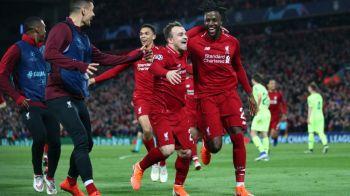 LIVERPOOL - BARCELONA 4-0 | Uluitor! Nemaivazut! Nemaiintalnit! Klopp asambleaza un commando fara Salah si Firmino, Liverpool o demoleaza pe Barcelona cu al 12-lea jucator in tribune