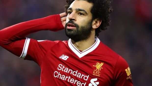 Salah, mesaj FABULOS pentru colegii de la Liverpool! Aparitie de senzatie in tribunele de pe Anfield! Ce scria pe tricoul egipteanului!