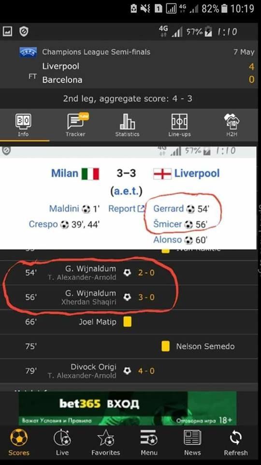 LIVERPOOL - BARCELONA 4-0 | Trebuia sa se intample asa! Coincidenta INCREDIBILA cu finala de vis din Istanbul 2005. FOTO