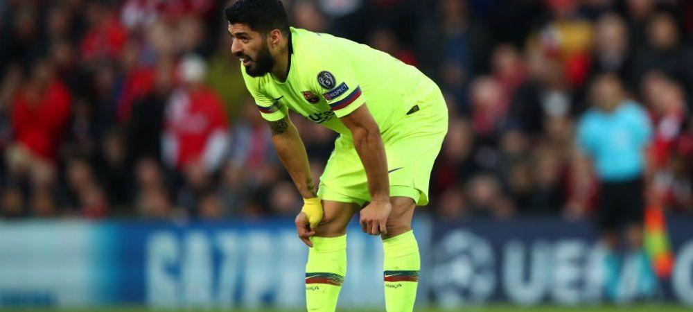 """LIVERPOOL - BARCELONA 4-0   """"Ca in curtea scolii!"""" Luis Suarez critica dur prestatia Barcelonei de pe Anfield! Reactia transanta a atacantului dupa socul sezonului in UCL"""