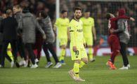 INCIDENT pentru Messi in aeroportul din Liverpool! Fanii Barcei s-au intors impotriva lui dupa eliminarea RUSINOASA din Liga
