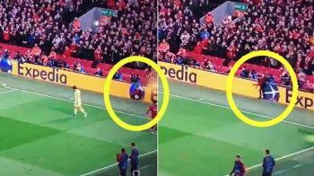 """""""Adevaratul"""" erou al lui Liverpool! Copilul de mingi care a contribuit la golul calificarii in finala UCL. Cum a ajutat. VIDEO"""