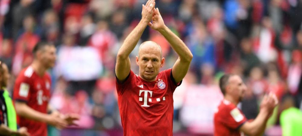 Arjen Robben, destinatie surpriza! Pleaca de la Bayern Munchen, dar ramane in UEFA Champions League! Unde poate ajunge olandezul!