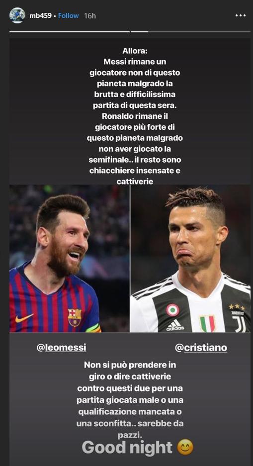 Balotelli a intrat pe Instagram imediat dupa fluierul de final de pe Anfield si a postat un mesaj senzational! Ce a spus despre Messi dupa Liverpool 4-0 Barcelona
