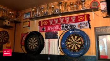 Fanii romani ai lui Liverpool au petrecut pana dimineata! Un suporter care si-a facut nunta pe Anfield i-a invitat pe toti in barul lui. VIDEO