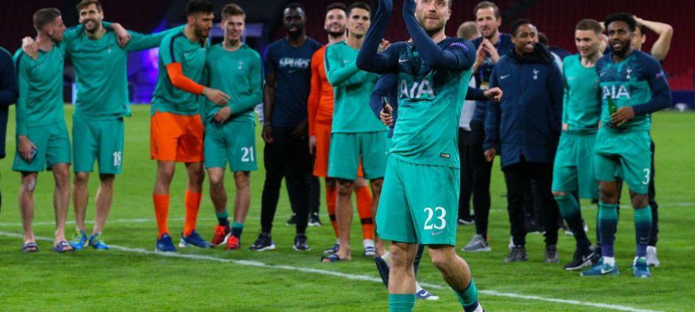 """""""Ajax a jucat un fotbal mai bun, nu am meritat calificarea mai mult ca ei!"""" Declaratie neasteptata dupa ce Tottenham s-a calificat in finala UEFA Champions League"""