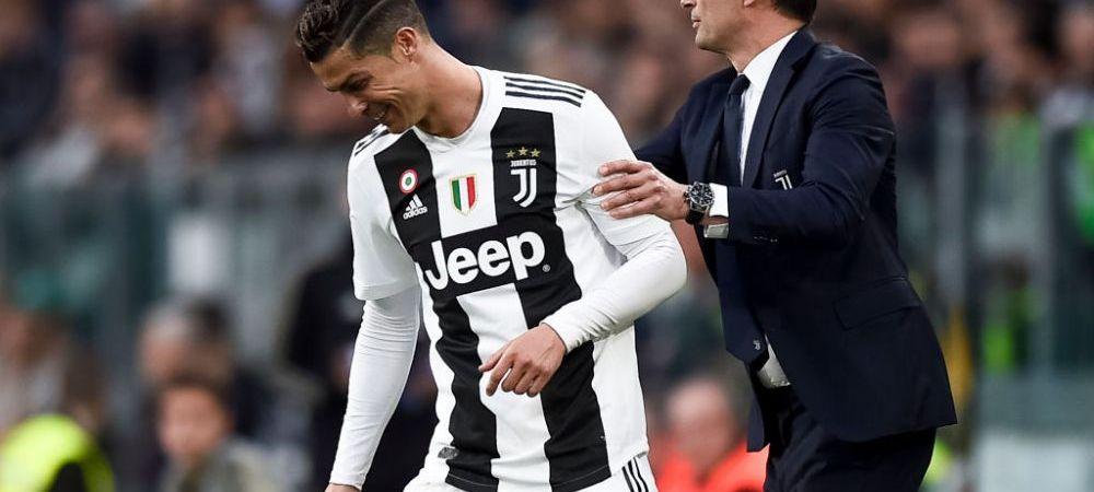 Cristiano Ronaldo va avea un nou antrenor! Allegri, OUT de la Juventus! Cine e favorit sa-l inlocuiasca