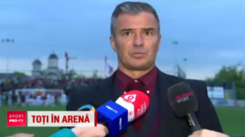 """Rapidistii vor pe National Arena in Liga a II-a! Pancu a cantat 20 de minute cu suporterii dupa victoria cu Tunari: """"Doar la Rapid si la Liverpool vezi asa ceva"""""""