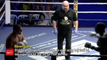 """Razboinicul Sam ii acorda revansa lui Morosanu: """"O sa fie jenant pentru el, pentru ca vor fi acolo toti fanii lui, toti suporterii lui, dar vin sa-l bat din nou!"""""""