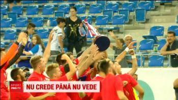 """Dan Petrescu e deja campion la superstitii! Nu vrea sa vada trofeul de campioana: """"N-are rost sa fim prostii prostilor!"""""""