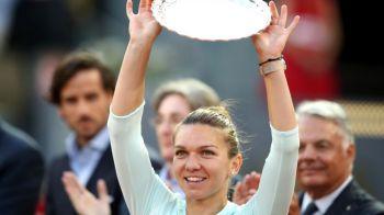 Unde a fost surprinsa Simona Halep dupa finala pierduta la Madrid! Companie selecta pentru romanca. FOTO