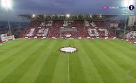 CFR CLUJ - CRAIOVA | Coregrafia pentru CHAMPIONS LEAGUE a CFR-ului la meciul cu Craiova! Desen PE TOT stadionul