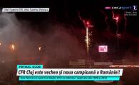CFR CAMPIOANA | EXPLOZIE pe stadion! Artificii si confetti pentru campioana Romaniei! Ce s-a intamplat la decernarea trofeului