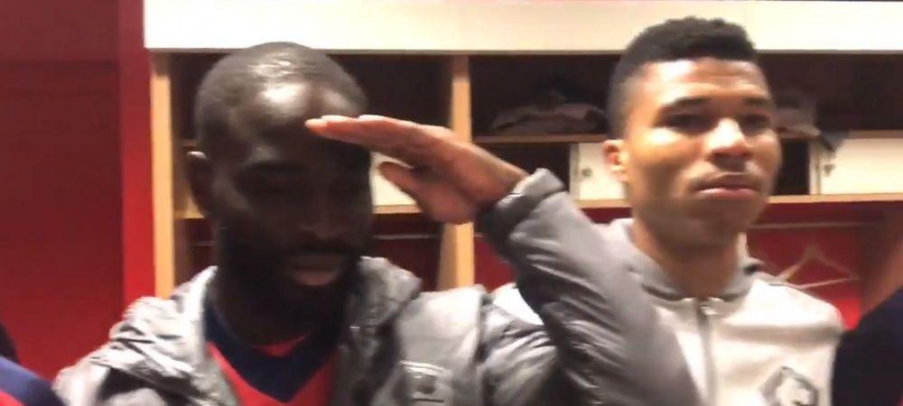 VIDEO Senzational cu jucatorii lui Lille! Au sarbatorit intr-un mod UNIC calificarea in UEFA Champions League! Ce s-a intamplat in vestiar!
