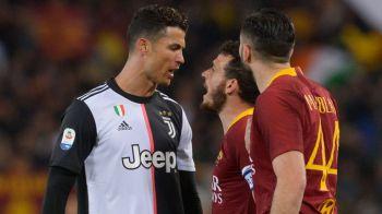"""""""ESTI PREA PITIC PENTRU MINE!"""" Aroganta incredibila a lui Ronaldo la adresa unui jucator de la Roma! De ce s-a enervat portughezul"""