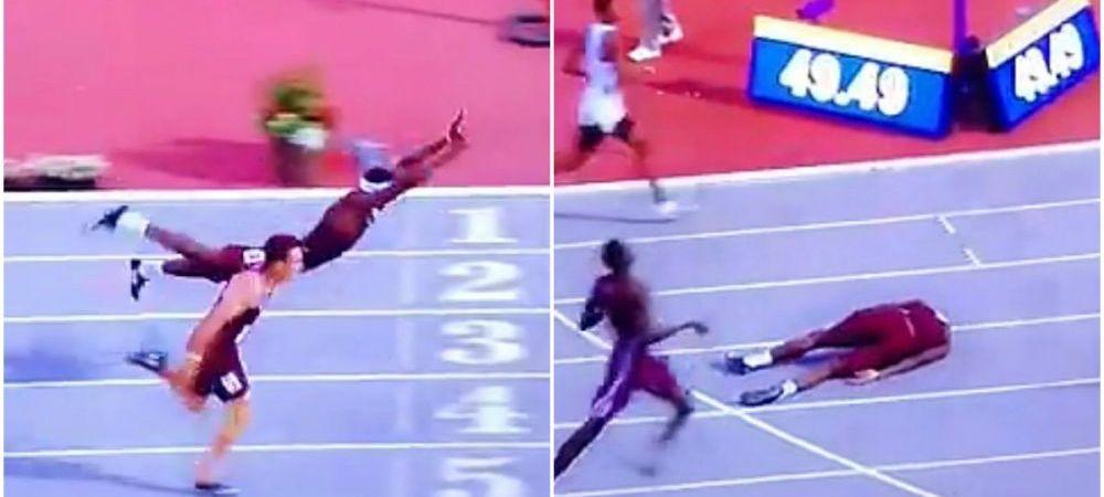 El este Superman din atletism! Saltul FABULOS care i-a adus o medalie de aur! VIDEO