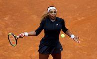 Serena Williams, revenire cu victorie la Roma! Din 2016 nu a mai reusit asa ceva!