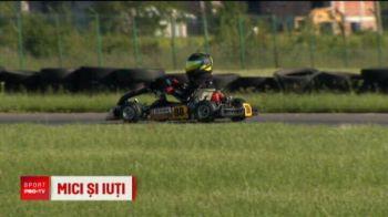 """El e Hamilton de Romania! Are 8 ani si ZBOARA cu o 100 km/h: """"As vrea mai multa viteza!"""""""