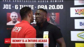"""Benny vrea sa-l bata pe Badr Hari: """"Sunt inca pe locul 3 mondial, voi lupta pentru centura si sper ca de data aceasta sa o aduc acasa!"""""""