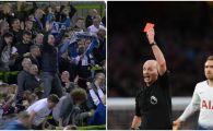 A dat 100 de cartonase rosii in Premier League si a innebunit pentru echipa favorita! Arbitrul care a facut senzatie in tribuna! Cum s-a bucurat | VIDEO