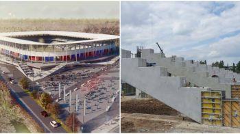 STADION STEAUA 2020 | Lucrarile la noul stadion AVANSEAZA. Noi imagini din Ghencea. Galerie FOTO