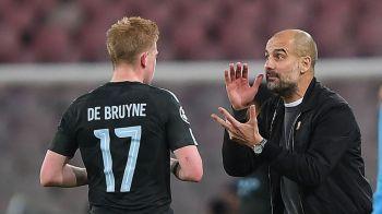 """""""Esti un antrenor de rahat"""" Kevin de Bruyne, replica INCREDIBILA pentru Pep Guardiola! Cum a reactionat antrenorul lui Manchester City! VIDEO"""