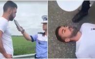 Fost fotbalist la Rapid, lesinat dupa ce a suflat in etilotest! Ce alcoolemie avea jucatorul! VIDEO