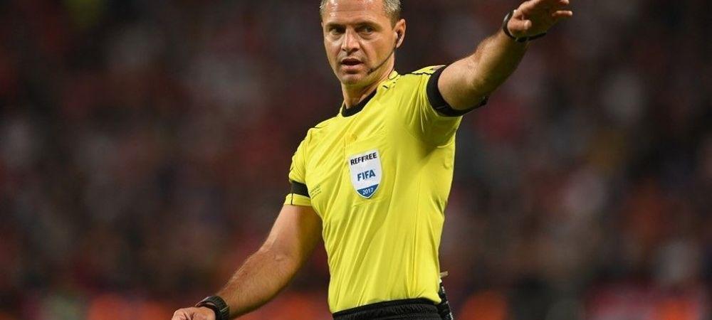 Slovenul Skomina arbitreaza finala Champions League! Anunt de ultima ora al UEFA