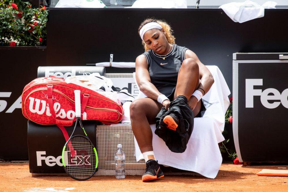 Serena Williams, victorie la Roma dupa 2 luni.