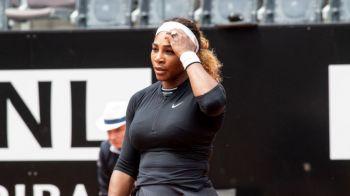 Serena Williams S-A RETRAS de la Roma inaintea duelului cu sora sa! Simona Halep o putea intalni in sferturi
