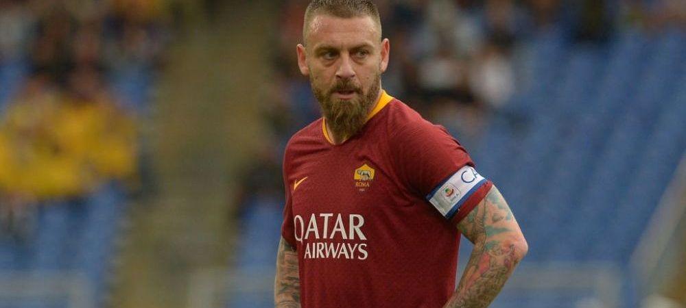 Transfer BOMBA pentru Daniele De Rossi! Capitanul Romei poate deveni coleg cu Alexandru Mitrita! Mutarea anuntata de italieni!