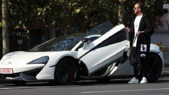 """""""Bag benzina pe datorie! Am luat 150 de lei cu imprumut"""". Incredibil! Alibec a ajuns sa nu mai aiba bani de combustibil pentru McLaren! Mesaj pentru Ioan Niculae"""