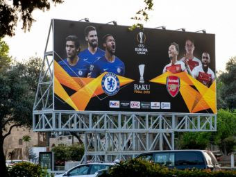 """""""UEFA chiar isi bate joc de noi!"""" Fanii lui Arsenal au luat foc: GAFA facuta de forul european inaintea finalei cu Chelsea"""