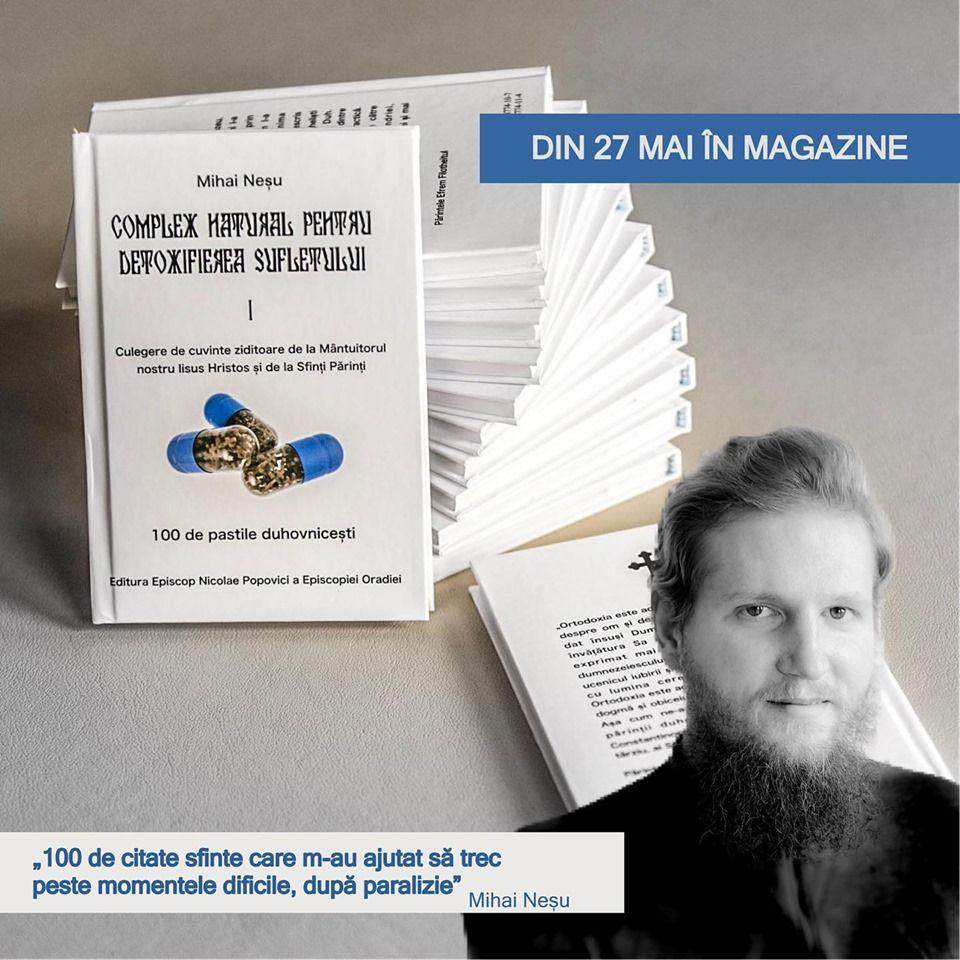 Mihai Nesu isi lanseaza prima carte, la 8 ani dupa accidentul care l-a lasat paralizat. Cum se numeste