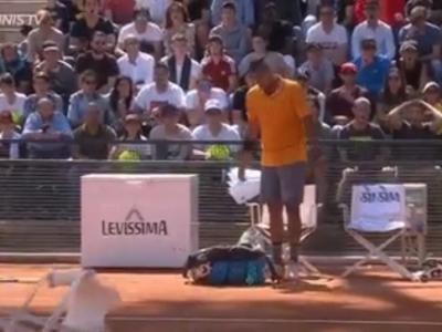 AMENDA URIASA pentru Kyrgios dupa scena SOC de la Roma: a aruncat cu un scaun pe teren si a abandonat meciul! VIDEO