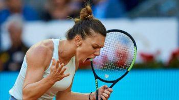 SIMONA HALEP ELIMINATA LA ROMA | Cat risca sa coboare Simona in clasamentul WTA! Pe ce loc poate ajunge dupa eliminarea de la Roma