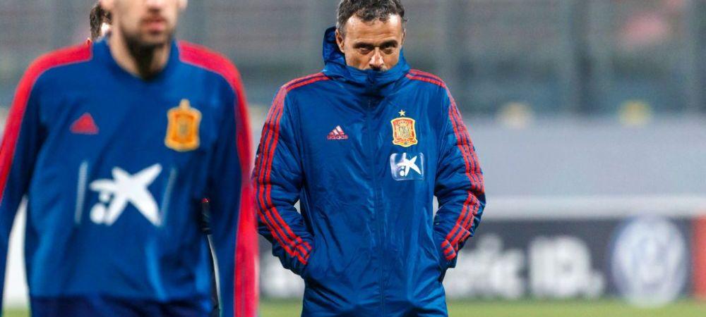 Cutremur la nationala Spaniei inaintea meciurilor cu Romania din preliminarii! Luis Enrique poate renunta la post, i-a fost ales deja inlocuitorul
