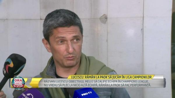Duel romanesc in drumul catre grupele UEFA Champions League! Razvan Lucescu poate da peste CFR Cluj!