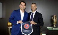Propunerea lui Burleanu catre UEFA, Ceferin e incantat de idee: Anglia, Spania si Italia sa trimita bani in Romania!