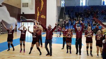 Anul perfect pentru Rapid: echipa de handbal a promovat in prima liga!