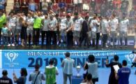 CSM BUCURESTI A CASTIGAT CUPA CHALLENGE la handbal masculin, in premiera in istoria clubului! CSMB 26-20 Madeira