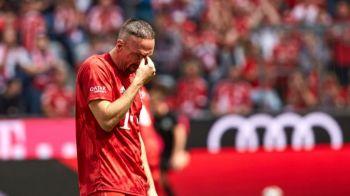 Sfarsitul unei ere la Bayern Munchen! Imagini SENZATIONALE pe Allianz Arena cu Ribery si Robben! Ce mesaje au afisat fanii!