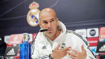 """Zidane, exemplu pentru toti antrenorii din lume! """"Daca nu pot sa iau eu deciziile, atunci o sa plec!"""" Francezul a rabufnit la conferinta de presa!"""